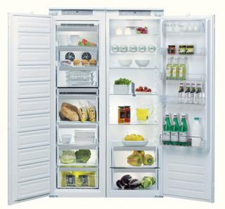 Kalusteisiin sijoitettava Whirlpool jääkaappi: Valkoinen - ARG 18082 A++