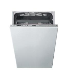 Съдомиялна за вграждане Whirlpool: Slimline, цвят инокс - WSIO 3T223 PCE X