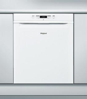 Whirlpool-opvaskemaskine: hvid farve, fuld størrelse - WUC 3C22