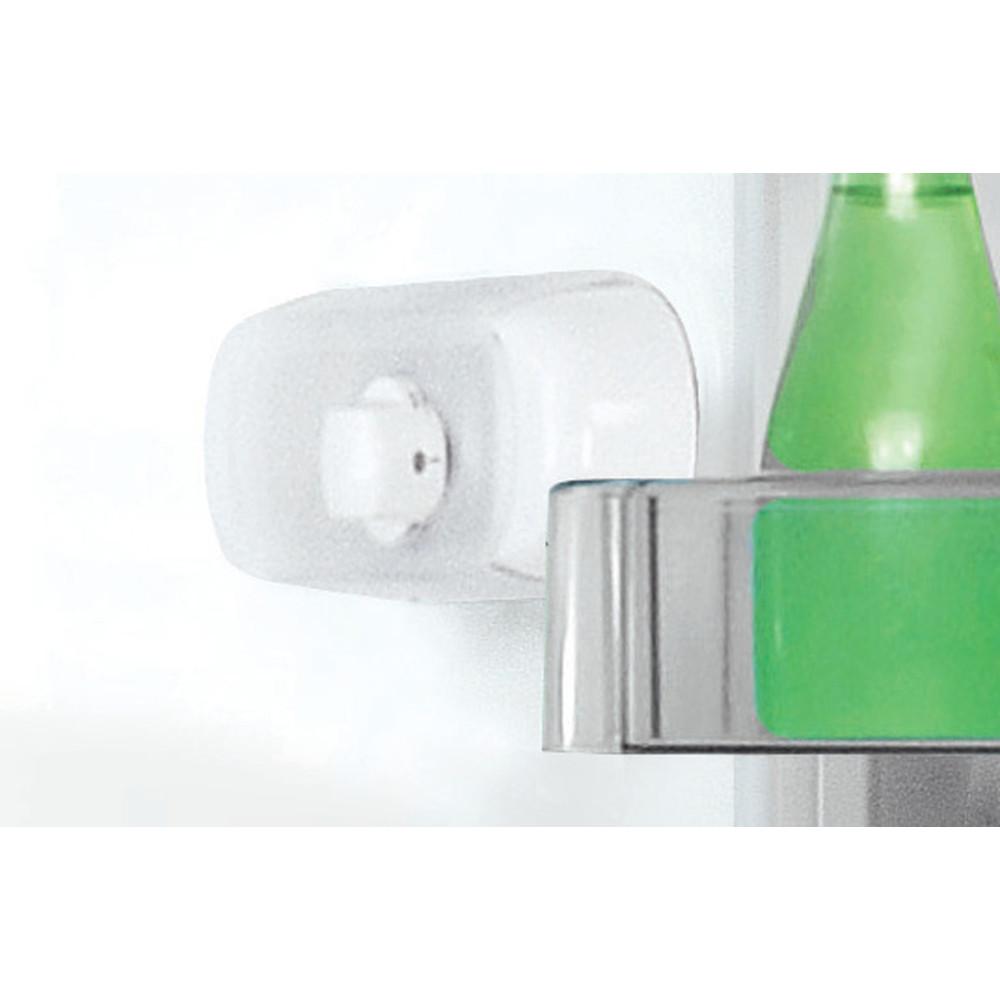 Indesit Kombinovaná chladnička s mrazničkou Voľne stojace LR8 S2 S B Srtrieborná 2 doors Lifestyle control panel
