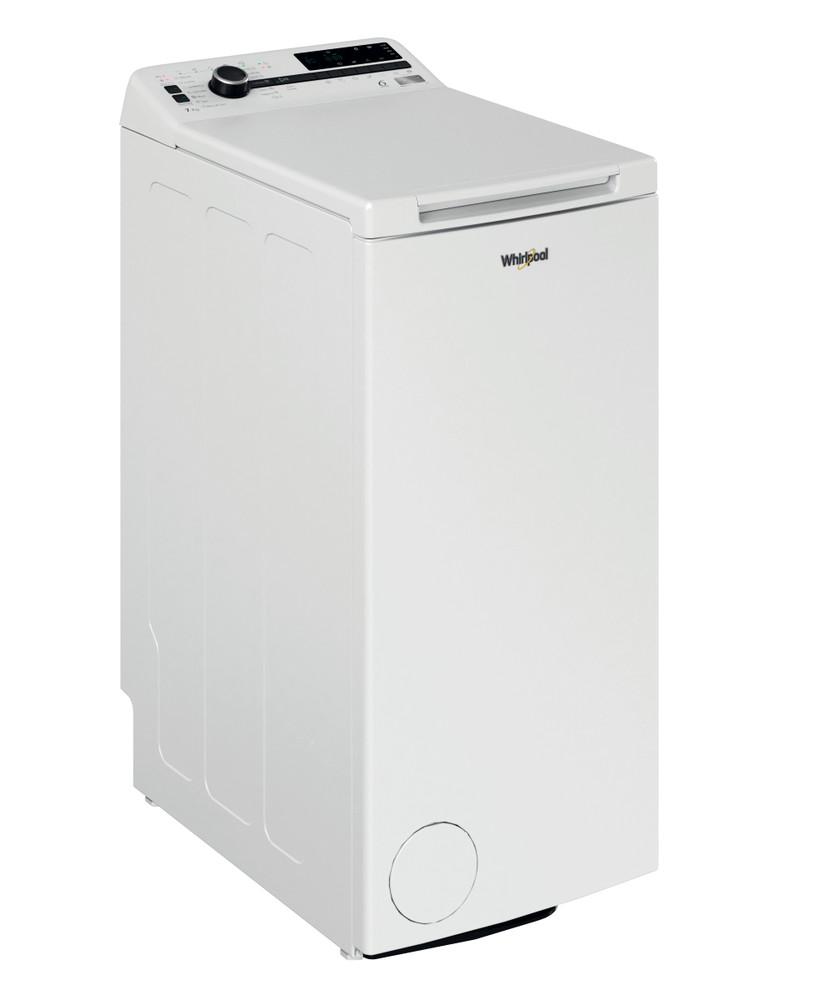 Whirlpool Washing machine Samostojeća TDLRB 7222BS EU/N Bela Gorenje punjenje A+++ Perspective