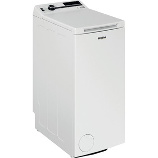 Whirlpool Πλυντήριο ρούχων Ελεύθερο TDLRB 7222BS EU/N Λευκό Top loader A+++ Perspective