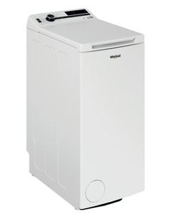 Fritstående Whirlpool-vaskemaskine med topbetjening: 7,0 kg - TDLRB 7222BS EU/N