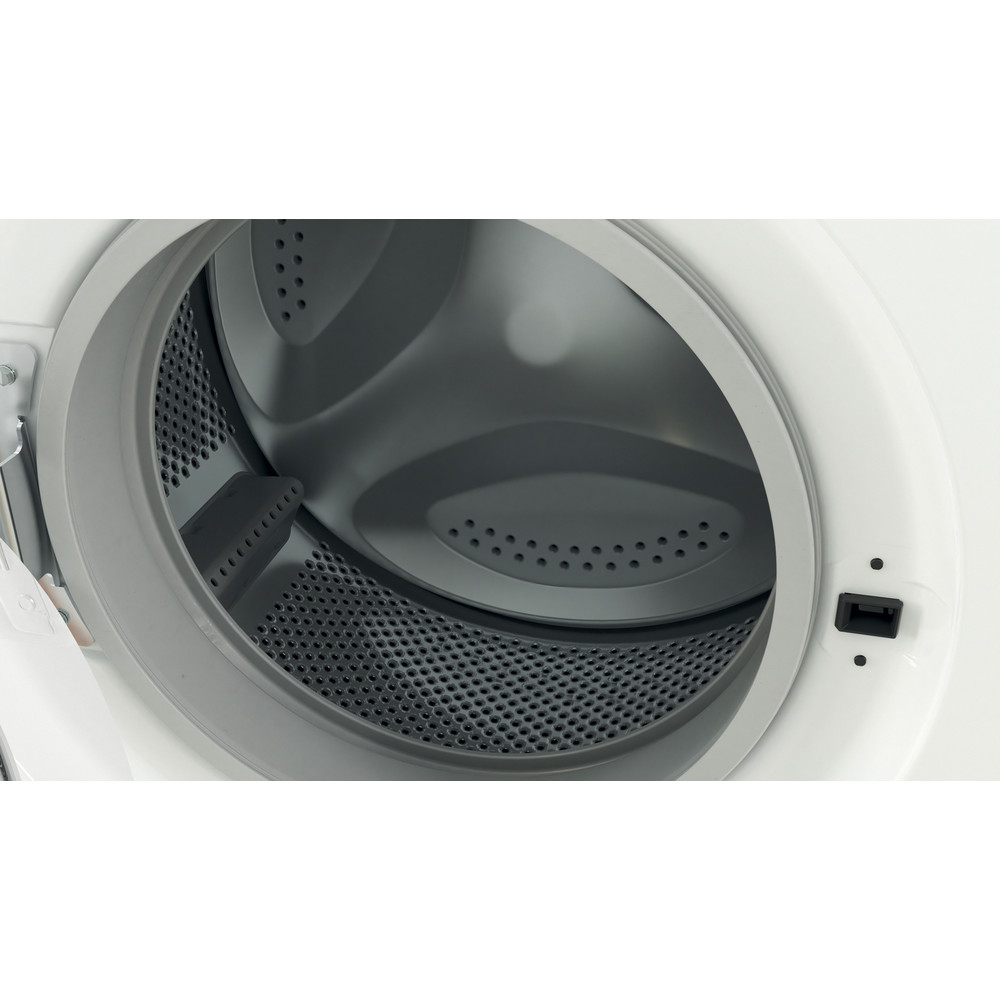 Indesit Washing machine Free-standing IWC 71252 W UK N White Front loader E Drum