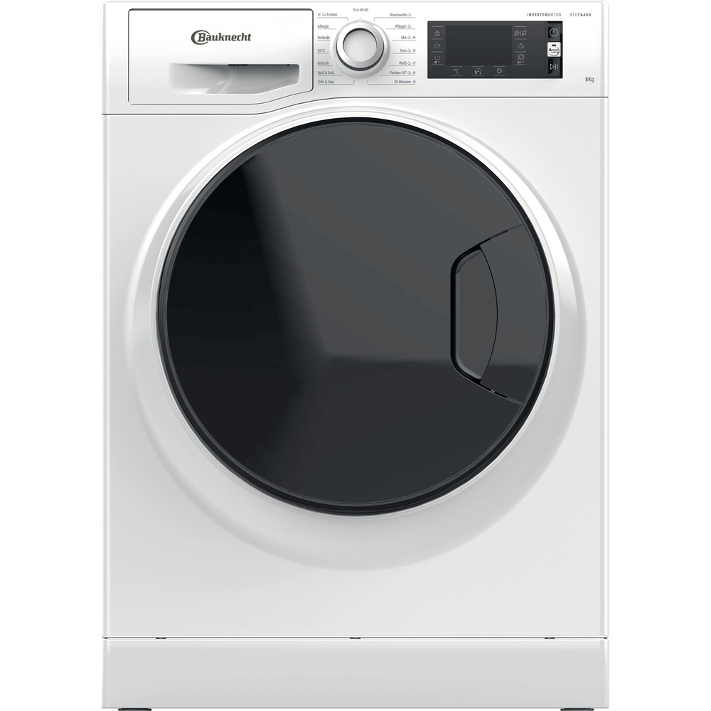 Bauknecht Waschmaschine Standgerät WM Elite 823 PS Weiss Frontlader B Frontal