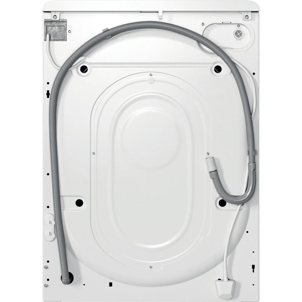 Indesit Vaskemaskine Fritstående MTWC 71452 W EU Hvid Frontbetjent E Back / Lateral