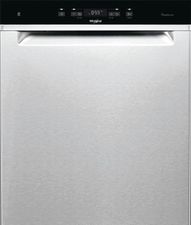 Whirlpool-opvaskemaskine: inox-farve, fuld størrelse - WUC 3T133 PF X
