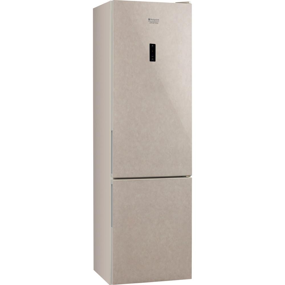 Hotpoint_Ariston Комбинированные холодильники Отдельностоящий HF 5200 M Мраморный 2 doors Perspective