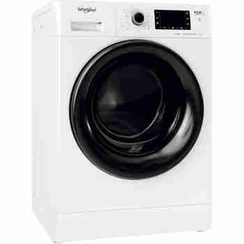 Whirlpool Maşină de spălat rufe cu uscător Independent FWDD 1071682 WBV EU N Alb Încărcare frontală Perspective