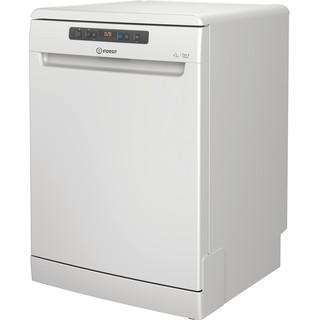 Máquina de lavar loiça Indesit: normal, Cor branca