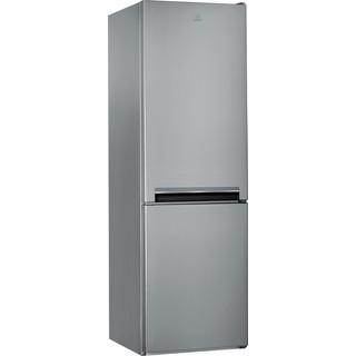 Indesit Kombinovaná chladnička s mrazničkou Voľne stojace LI8 S2E X Nerezová 2 doors Perspective