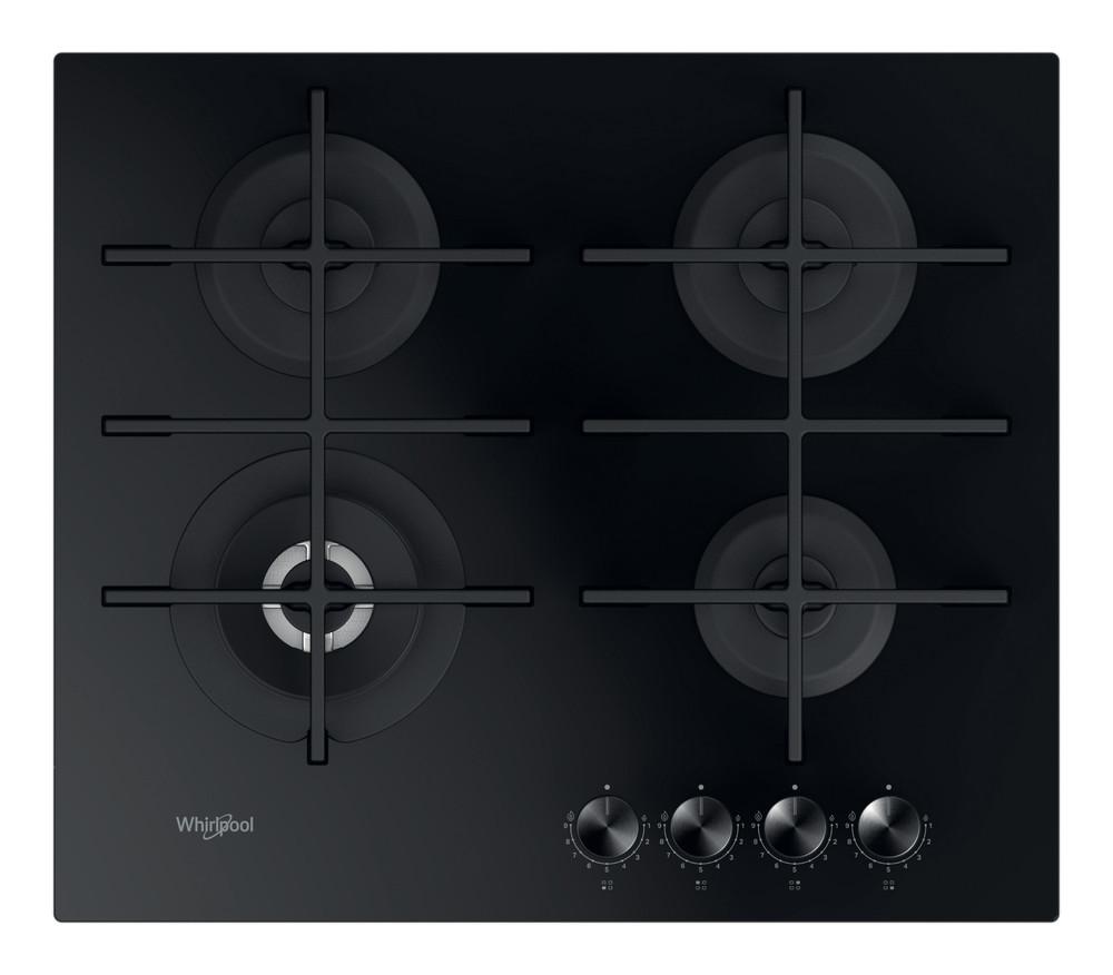 Whirlpool Plită GOWL 628/NB EE Negru Gaz'Mix Frontal