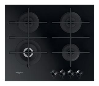 Whirlpool plinska kuhalna plošča: 4 plinski gorilniki - GOWL 628/NB EE