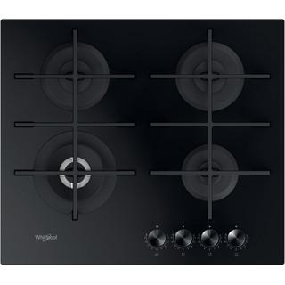 Whirlpool Ploča za kuhanje GOWL 628/NB EE Crna Plinska Frontal