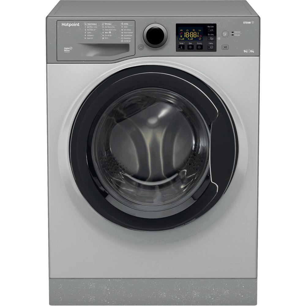 Hotpoint Washer dryer Free-standing RDG 9643 GK UK N Graphite Front loader Frontal