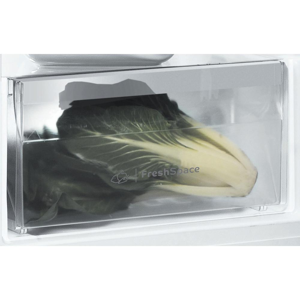 Indesit Refrigerator Free-standing SI6 1 W 1 Global white Drawer
