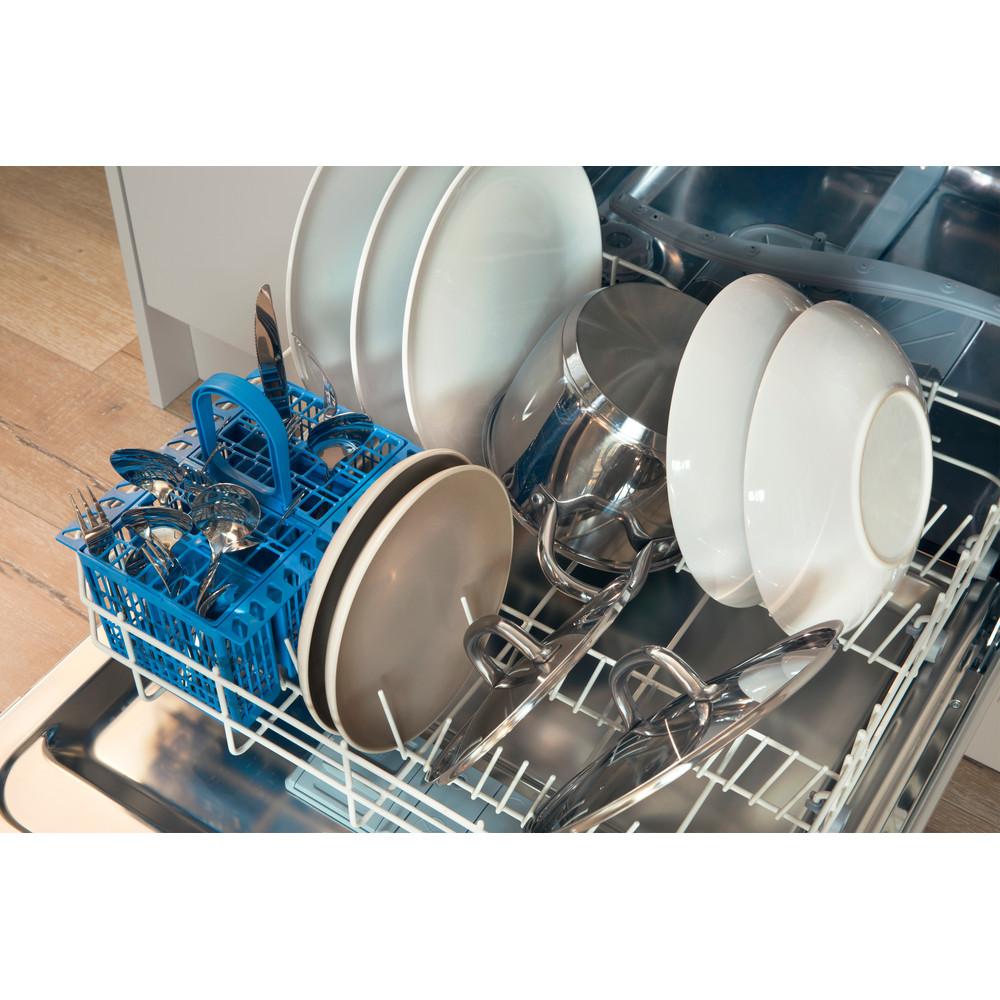Indesit Vaatwasser Ingebouwd DMIE 2B19 Volledig geïntegreerd F Rack