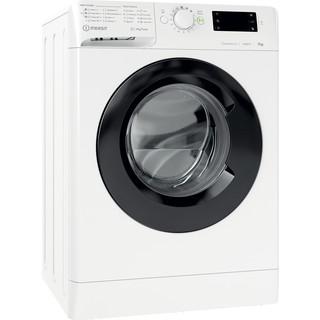Indesit Wasmachine Vrijstaand MTWE 71483 WK EE Wit Voorlader D Perspective