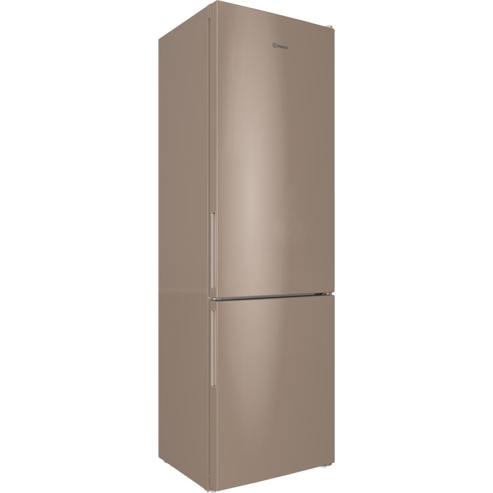 Indesit Холодильник с морозильной камерой Отдельностоящий ITR 4200 E Розово-белый 2 doors Perspective