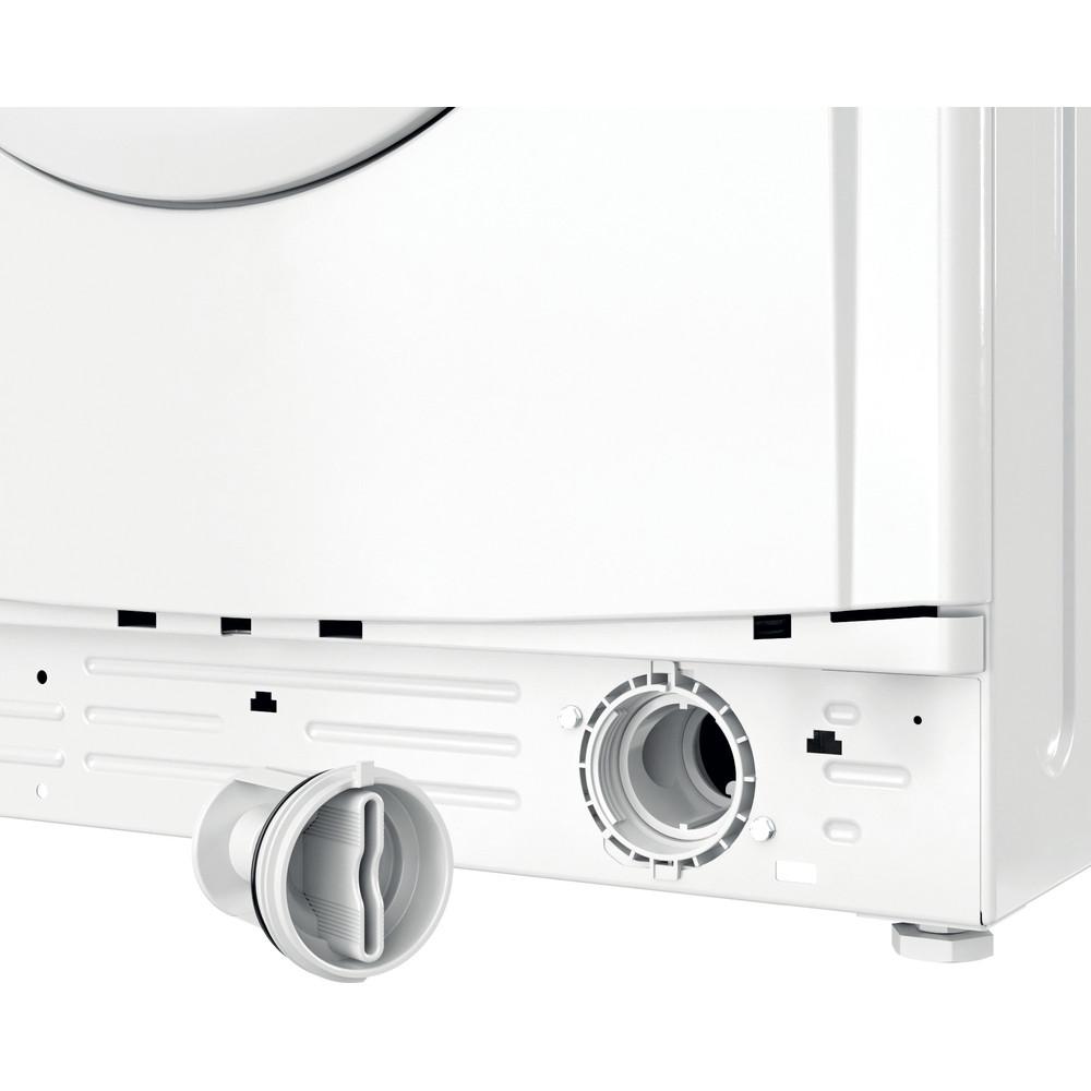 Indesit Washing machine Free-standing IWC 81251 W UK N White Front loader F Filter