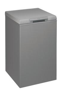 Congélateur coffre posable Whirlpool: couleur argent - CF 16 S 2