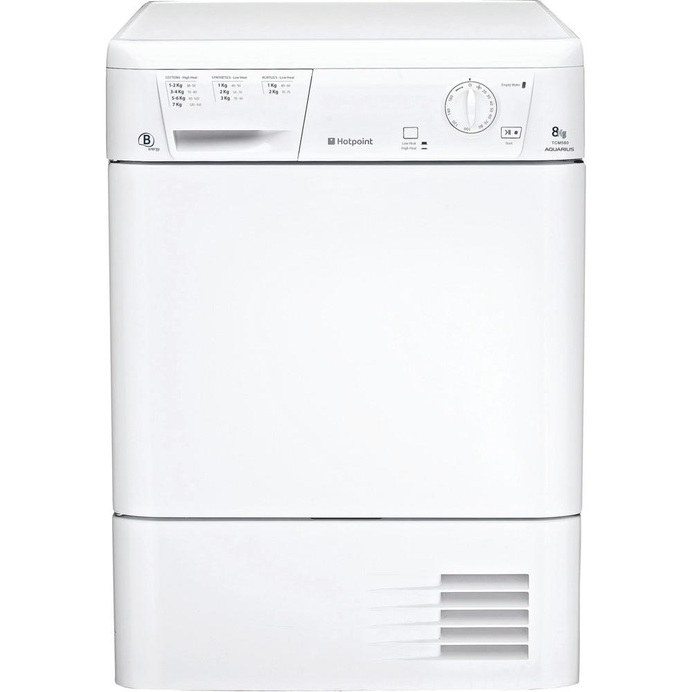 Hotpoint Dryer TCM 580 B P(UK) White Frontal