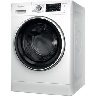 Whirlpool Perilica za rublje Samostojeći FFD 9458 BCV EE Bijela Prednje punjenje B Perspective