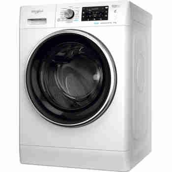Whirlpool Maşină de spălat rufe Independent FFD 9448 BCV EE Alb Încărcare frontală C Perspective