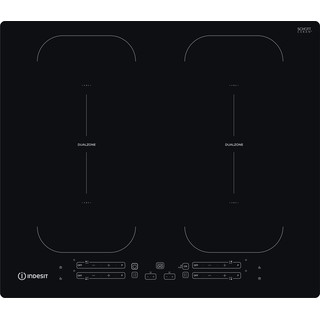 Indesit Kookplaat IB 88B60 NE Zwart Induction vitroceramic Frontal