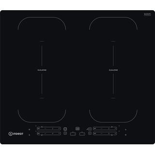 Indesit Table de cuisson IB 88B60 NE Noir Induction vitroceramic Frontal
