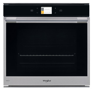 Whirlpool built in electric oven: inox color, self cleaning - W9 OM2 4S1 H