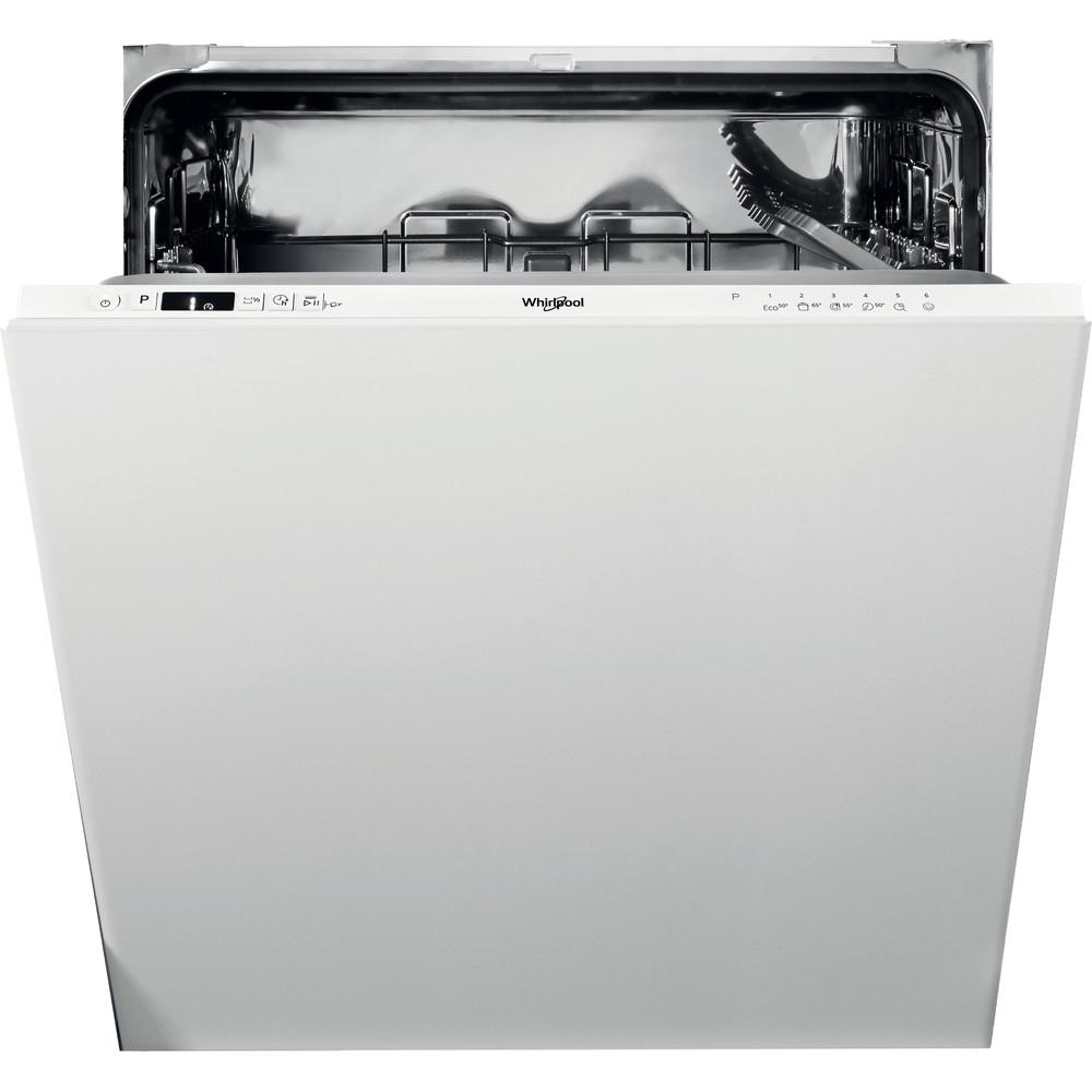 Whirlpool integrert oppvaskmaskin: farge hvit, 60 cm - WIC 3B19