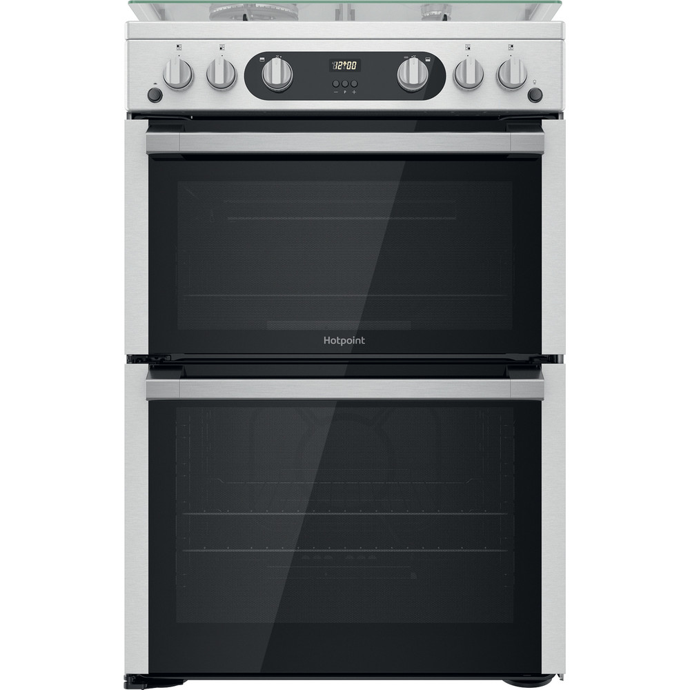 Hotpoint Double Cooker HDM67G0C2CX/U Inox A+ Frontal
