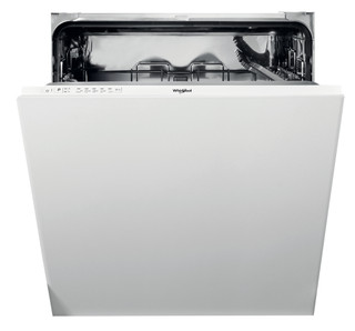 Whirlpool integrated dishwasher: white color, full size - WIE 2B19 N UK