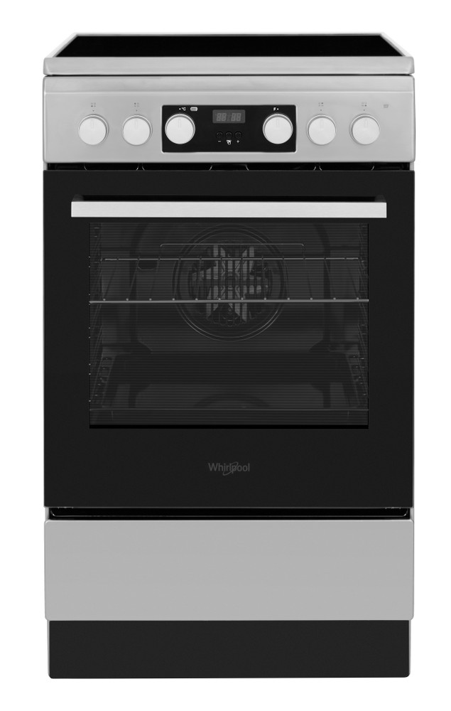 Whirlpool Tűzhely WS5V8CCX/E Inox Electrical Frontal