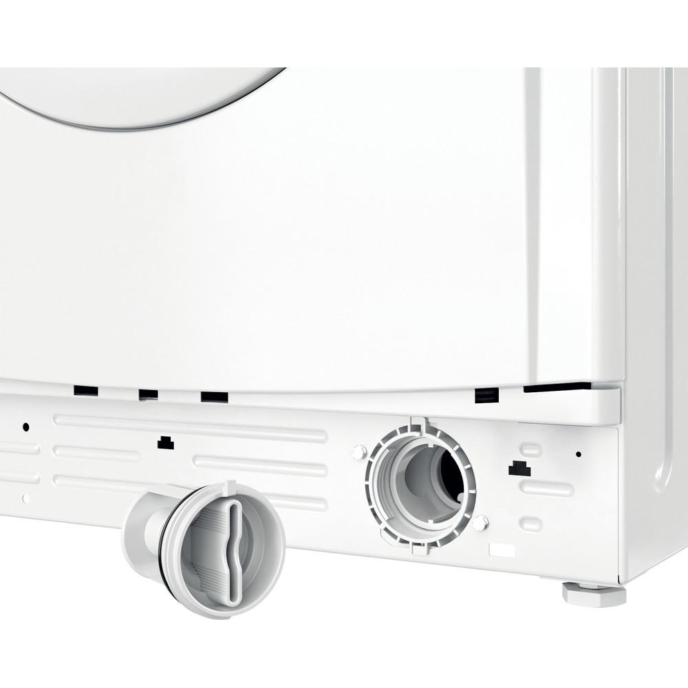 Indesit Waschmaschine Freistehend EWD 61051E W EU N Weiß Frontlader F Filter