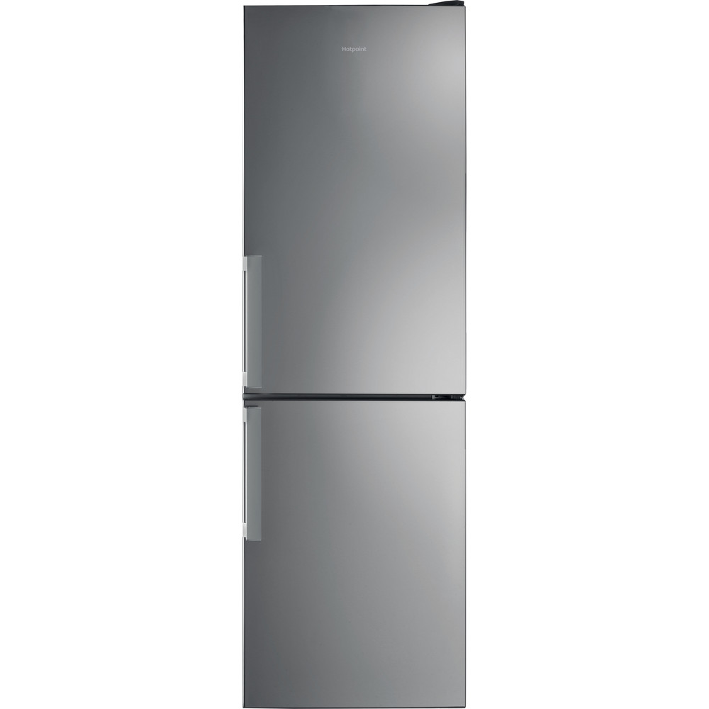 Hotpoint Fridge Freezer Free-standing H5T 811I MX H 1 Mirror/Inox 2 doors Frontal