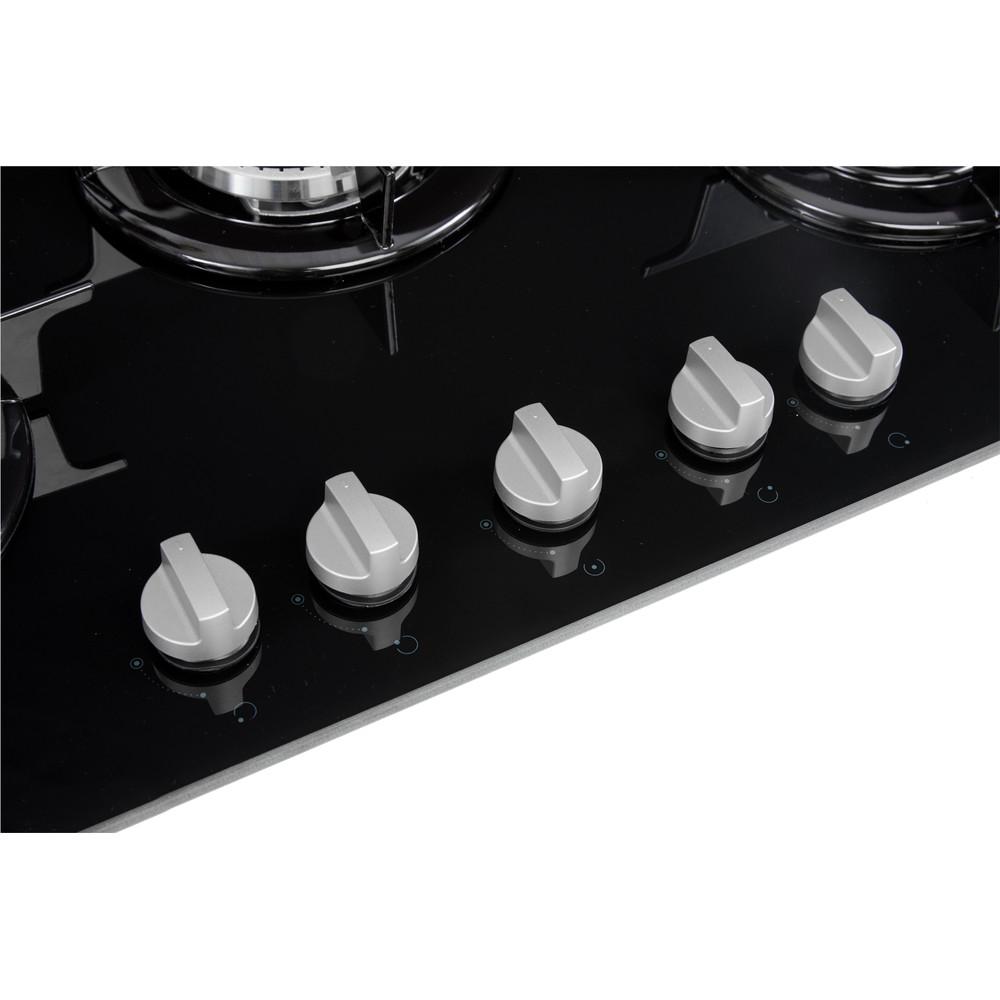 Indesit Piano cottura PR 752 W/I(BK) Nero GAS Control_Panel