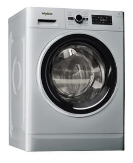 Whirlpool freestanding front loading washing machine: 8kg - FWG81284SBS EG