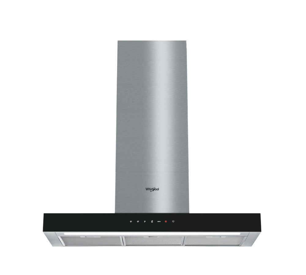Whirlpool Exaustor Independente WHBS 92F LT K Inox Wall-mounted Electrónicos Frontal