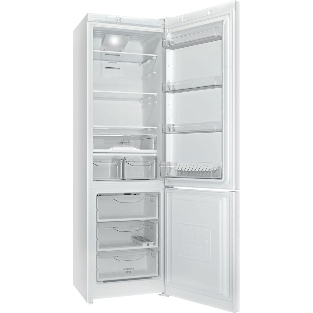 Indesit Холодильник з нижньою морозильною камерою. Соло DF 4201 W Білий 2 двері Perspective open