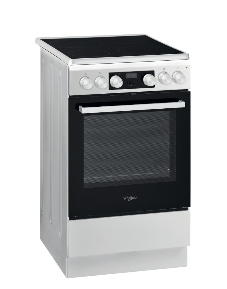 Whirlpool Liesi WS5V8CHW/N Valkoinen Electrical Perspective