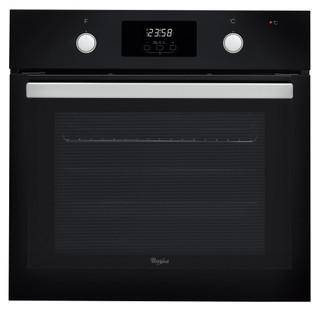 Whirlpool beépíthető elektromos sütő: fekete szín, öntisztító - AKP 745 NB