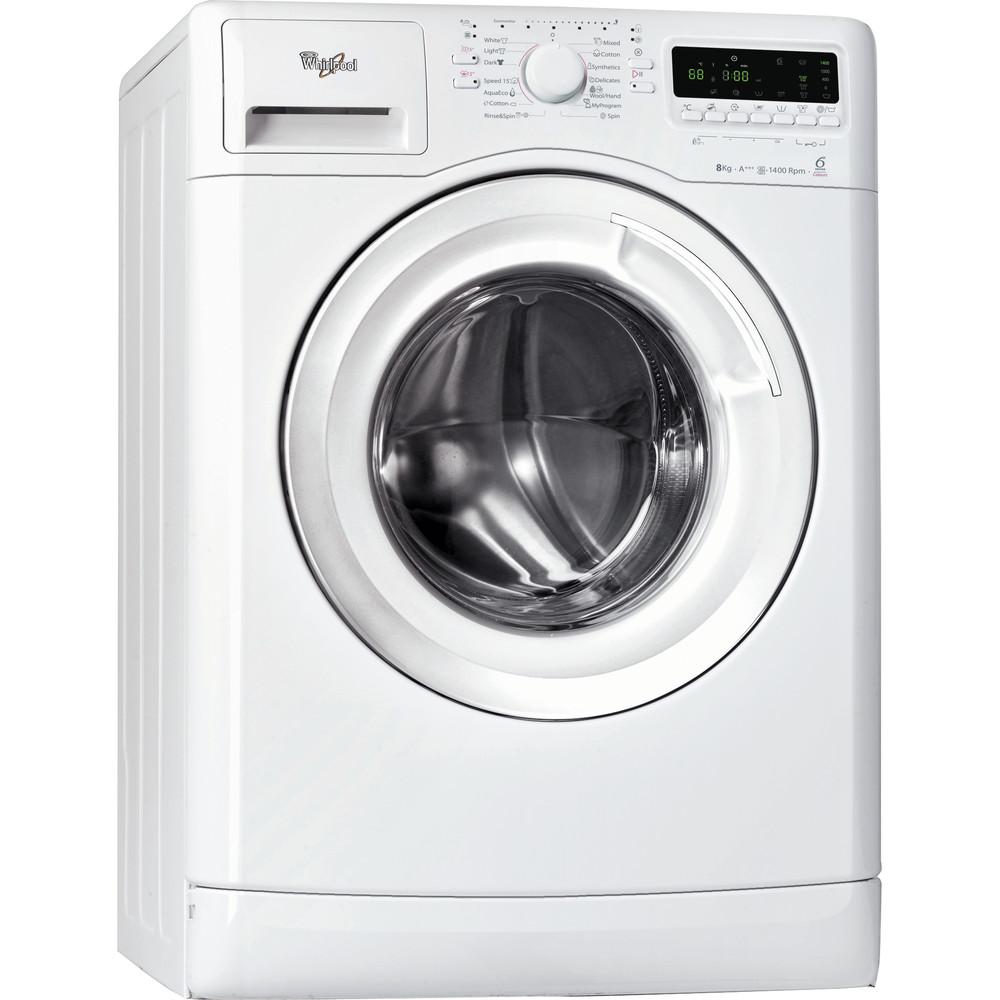 Whirlpool frontmatad tvättmaskin: 8 kg - AWOE 8424 HC