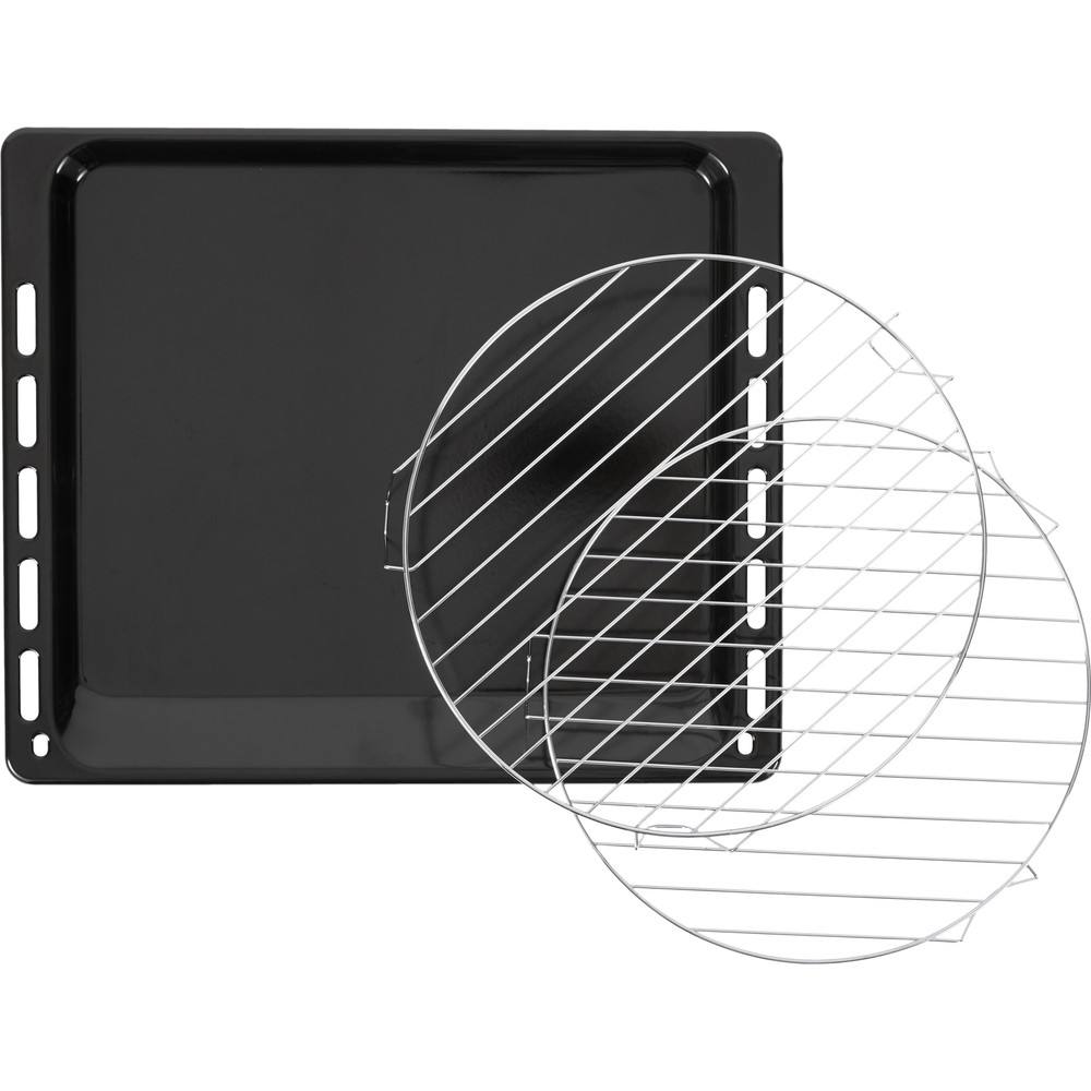 Indesit Four à micro-ondes Encastrable MWI 3445 IX Inox Électronique 40 Micro-ondes combiné 900 Accessory