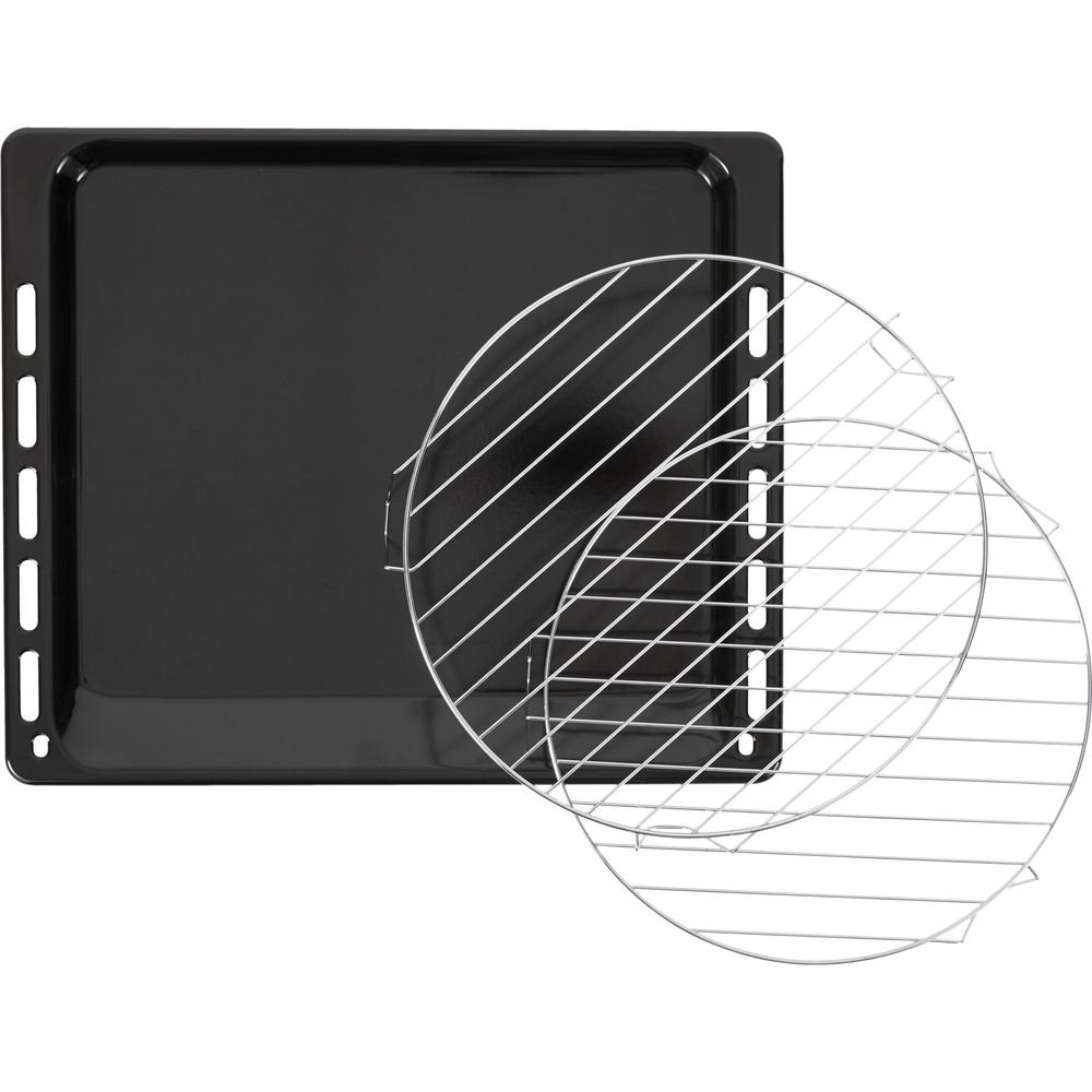 Indesit Microgolfoven Inbouw MWI 3445 IX Inox Elektronisch 40 Combimicrogolfoven 900 Accessory