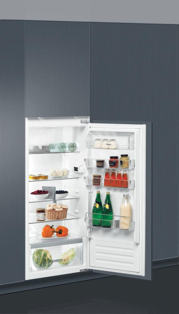 Whirlpool Refrigerator Vgradni ARG 8511 Inox Perspective open