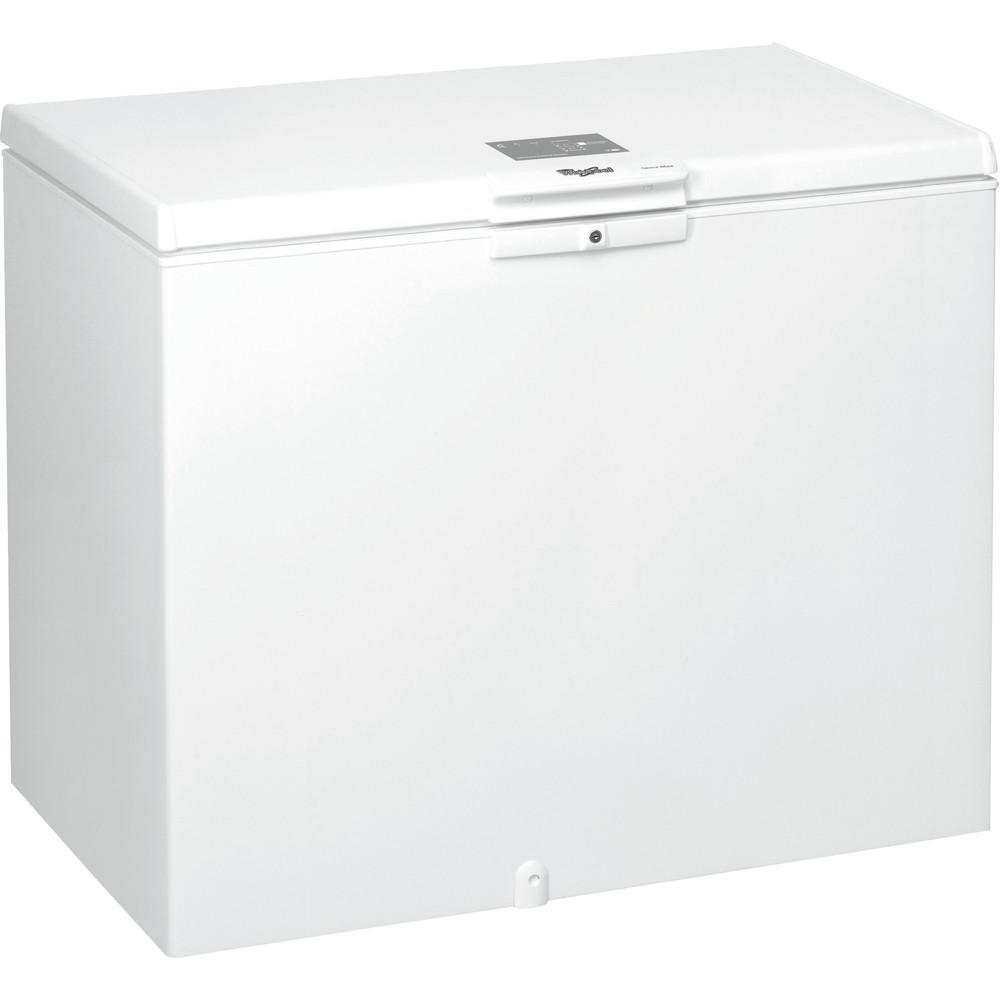 Congelador horizontal de libre instalación Whirlpool: color blanco - WHE3133.1