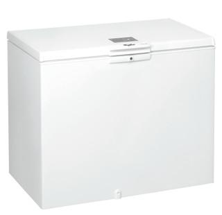 Fritstående Whirlpool-kummefryser: hvid farve - WHE3133.1