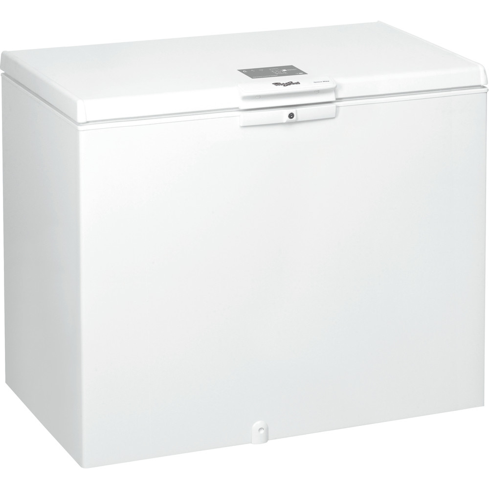 Congelador horizontal Whirlpool: color blanco - WHE3133.1